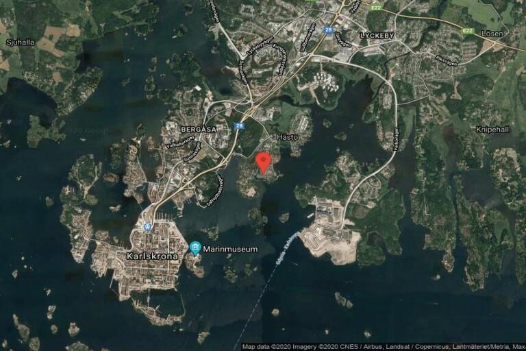 72 kvadratmeter stort hus i Karlskrona sålt till ny ägare