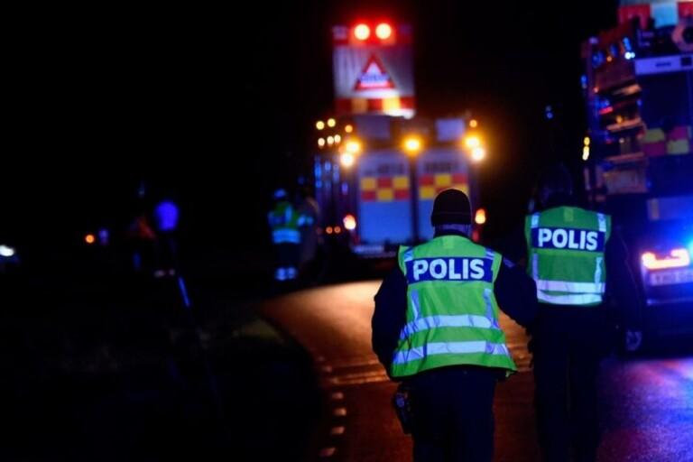 Polisen ska utreda varför olyckan inträffade.