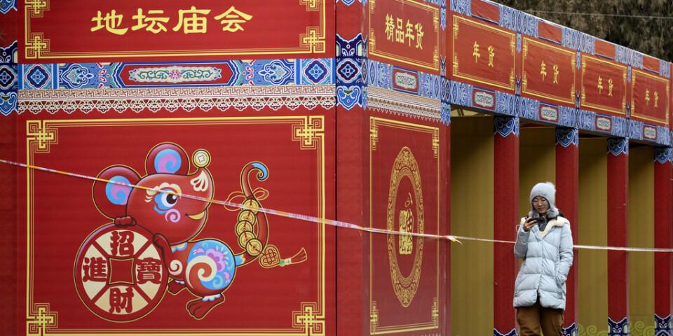 Nyåret är den största högtidsfesten i den kinesiska kalendern.
