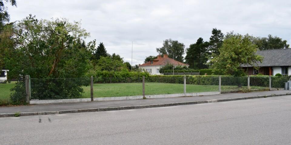 Tomten som Mbas vill bygga på ligger vid Tegelgatan/Vintergatan.