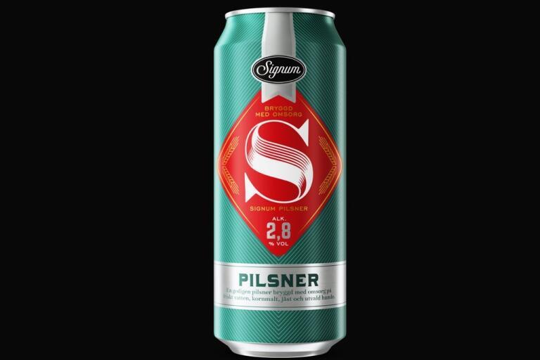 Coop återkallar Signum öl, 2,8%, på grund av att den kan innehålla en för hög alkoholhalt.