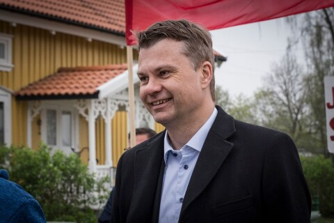 """Ulf Olsson nöjd med första resultatet: """"Känns bra"""""""