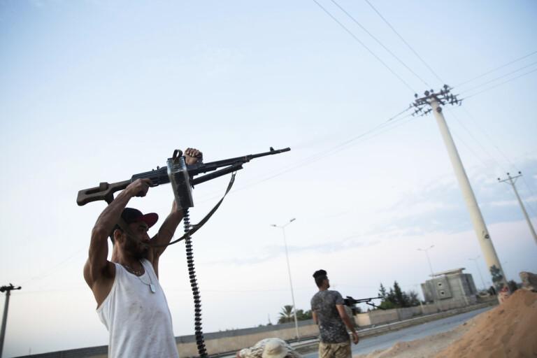 EU-sanktioner mot misstänkt vapensmuggling