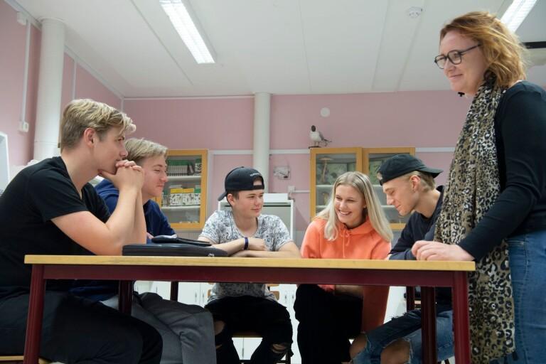 Sexualundervisning på nytt sätt i Lammhults skola