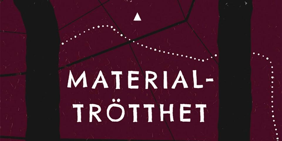 """Omslaget till """"Materialtrötthet""""."""