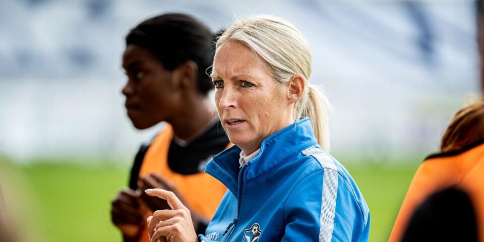 Maria Nilsson, tränare för Växjö DFF.