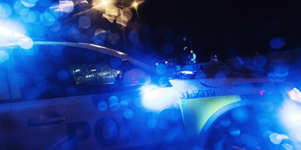 De har varit oroligt i Vänersborg på fredagskvällen. Arkivbild.
