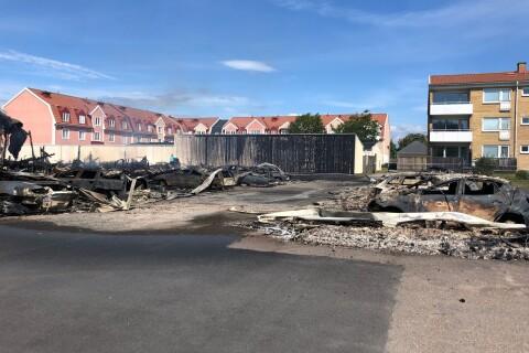 """Polisen om branden: """"Vill gärna att fler hör av sig"""""""