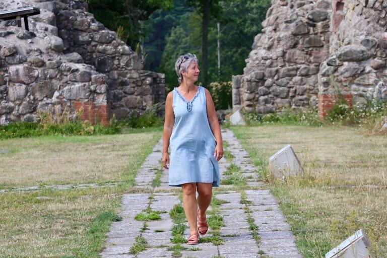 Visfest inom ruinens murar