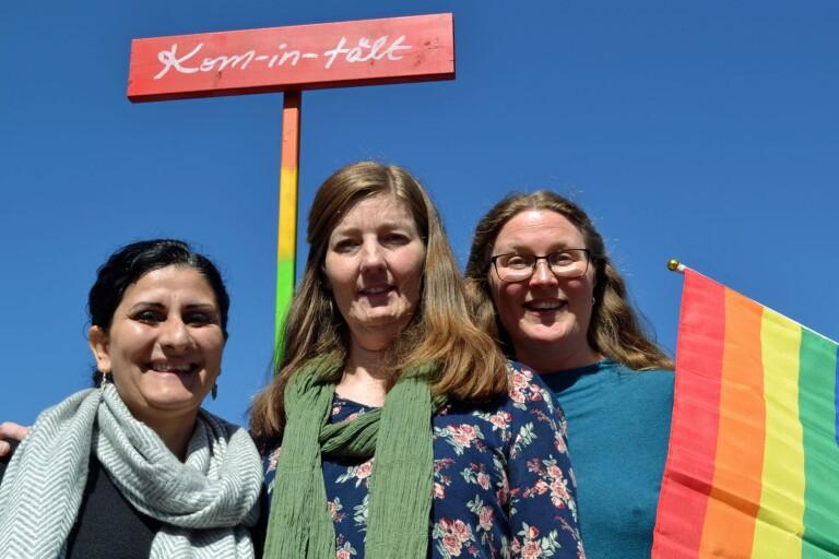 Stolta arrangörer flaggar för bredare pride
