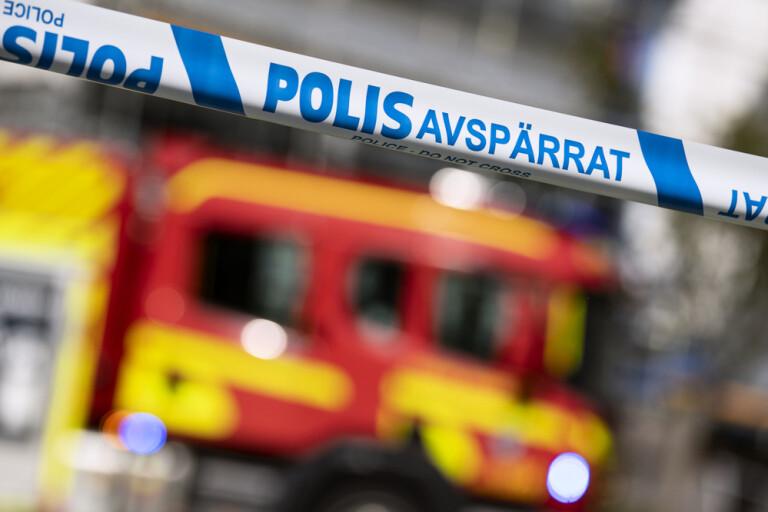 Kvinna död i lägenhetsbrand i Jakobsberg