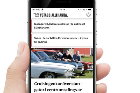 Guide: Så funkar YA:s app MinYA
