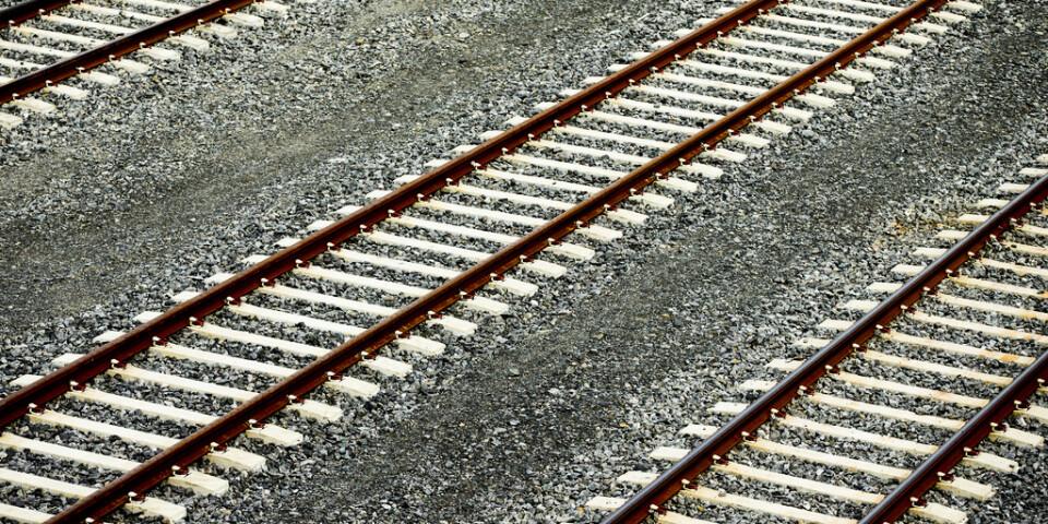 Prognosen är att tågtrafiken kan återupptas på fredagsmorgonen. Arkivbild.