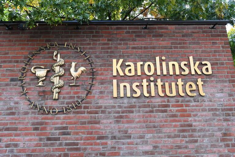 Karolinska institutet. Arkivbild.