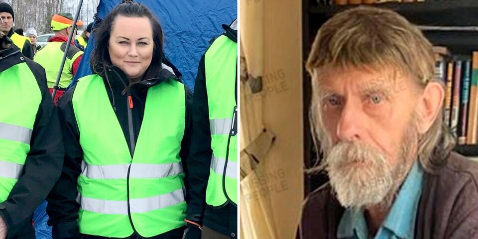 Missing people kommer att fortsätta leta efter försvunne Arne under helgen.
