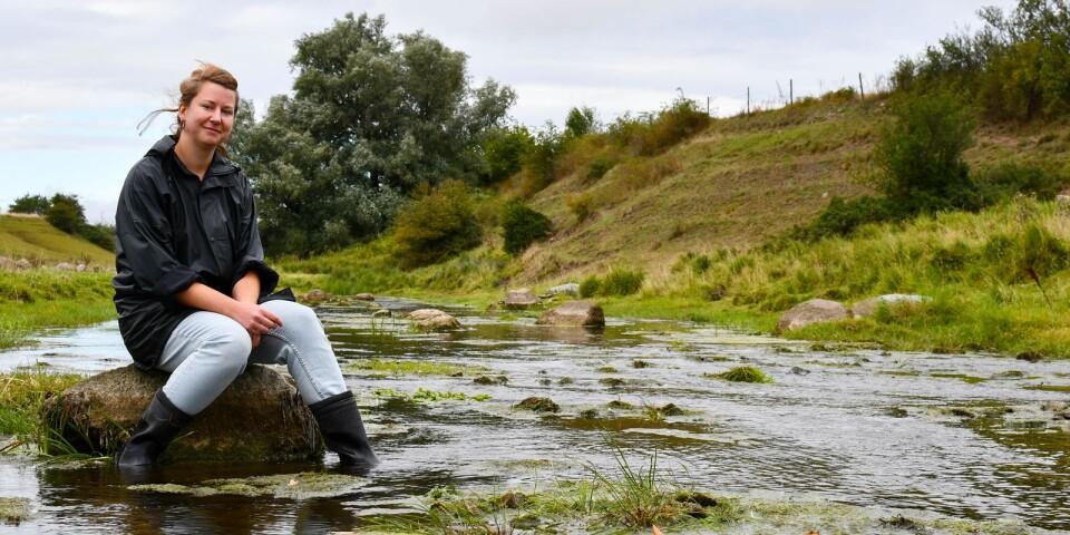 """Projektet """"Österlens sköna vattendrag"""" startade på initiativ av Österlens Vattenråd och vattenrådet för Nybroån, Kabusaån och Tygeån, som tillsammans vill stärka arbetet för att uppnå god ekologisk och kemisk status i vattendragen i sydöst. Projektledare är Valentina Zülsdorff."""