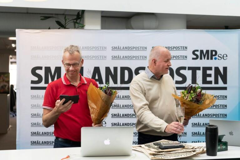 Smålandspostens reportrar nuddade Guldspaden