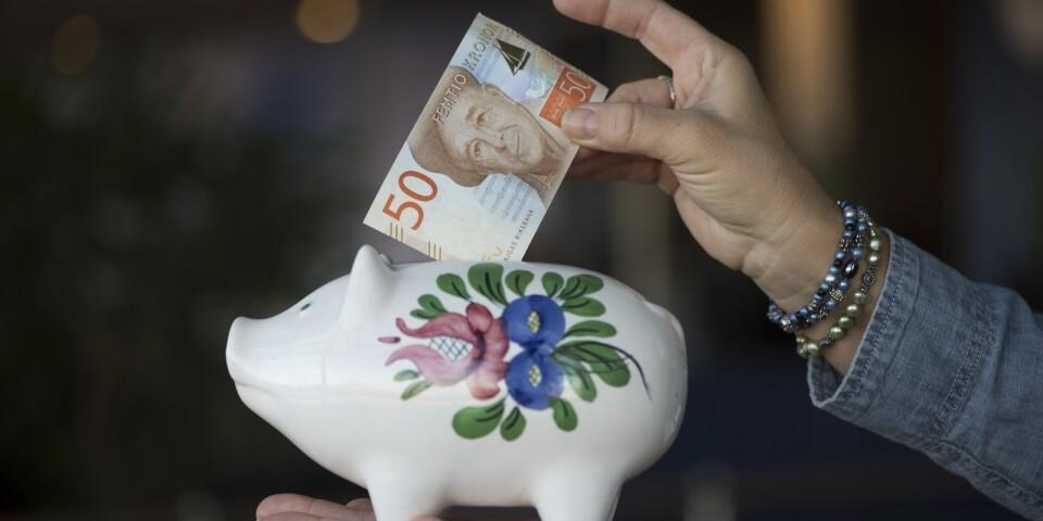 En effekt av coronautbrottet är att stora börsvärden gått förlorade vilket har effekt på fondsparande som pensioner. Arkivbild.