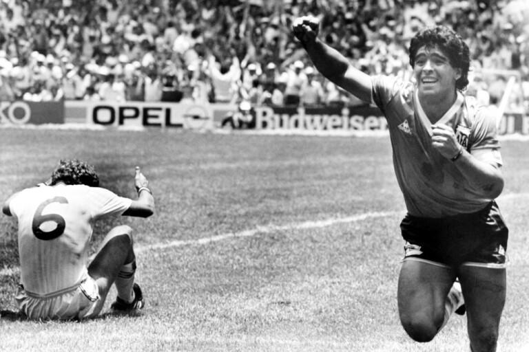 Fem händelser i Maradonas magiska karriär