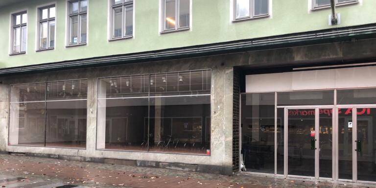 Saluhall öppnar i Växjö city