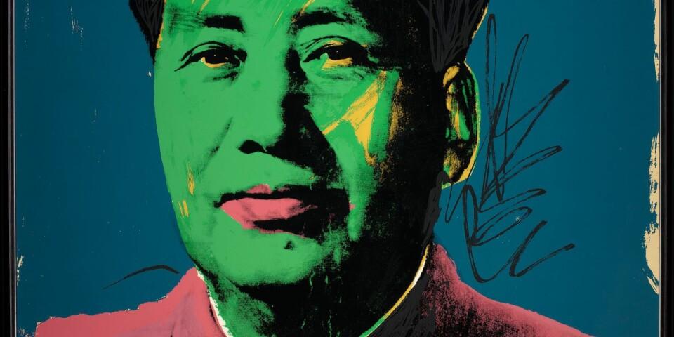"""Andy Warhol: """"Mao  Datum"""" (1973 )"""