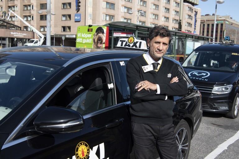 """Taxibolag kämpar i motvind: """"Sömnlösa nätter"""""""