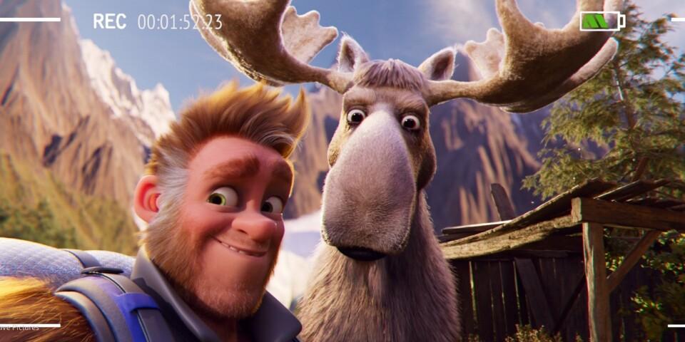 """Pappa Bigfoot drar till Alaska och blir miljökämpe i """"Familjen Bigfoot""""."""