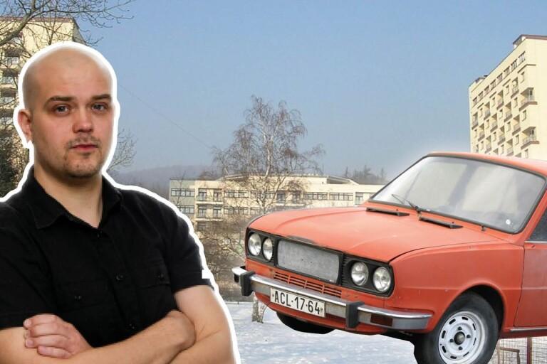 """CG: """"Jag vill hyra en Skoda och dundra ner till Litvinov"""""""