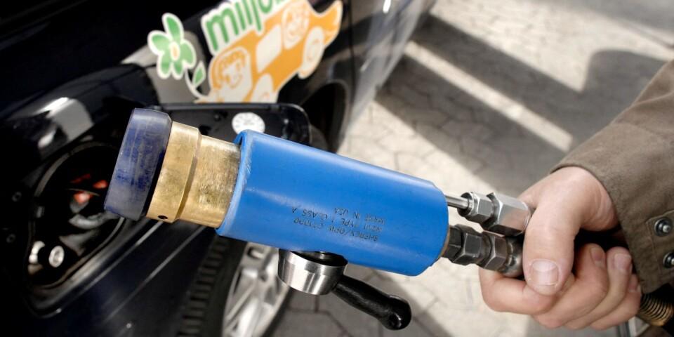 I dag rullar 60 procent av kollektivtrafiken på biogas i Kalmar län.