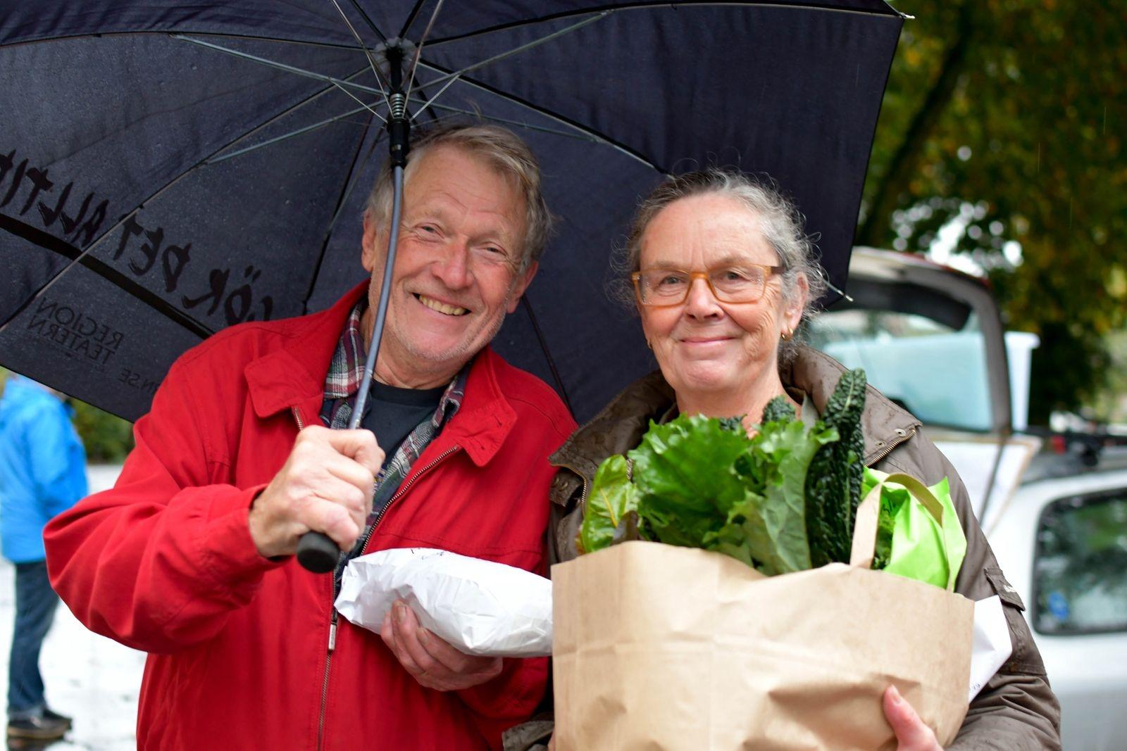 Anders Blomberg och Marie Lindqvist Blomberg är nyligen nerflyttade till Äsperöd från Småland. De besökte Reko-ringen i Tomelilla för första gången förra torsdagen.