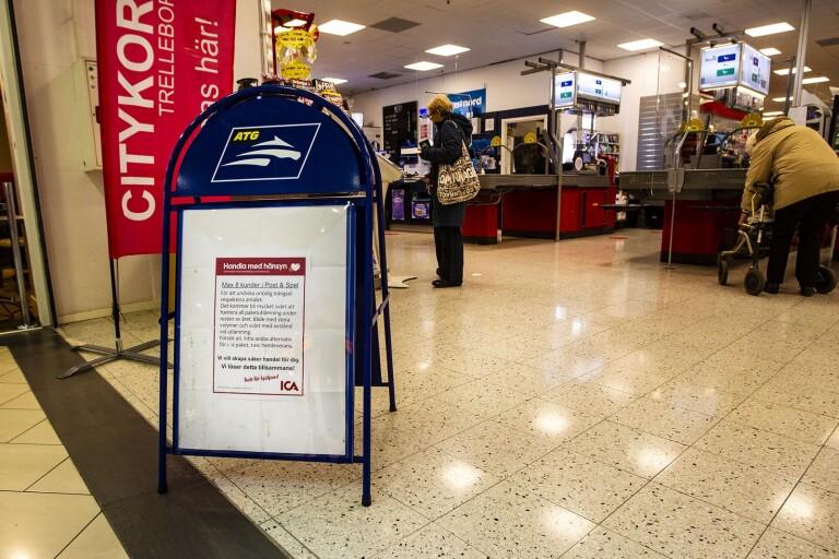 Paketutlämning oroar handlare i Trelleborg