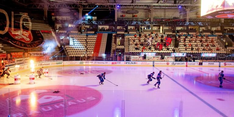 Växjö Lakers öppnar restaurangerna vid match i Vida Arena