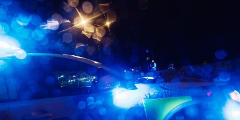 I natt: Kvinna omhändertogs efter vinglig färd