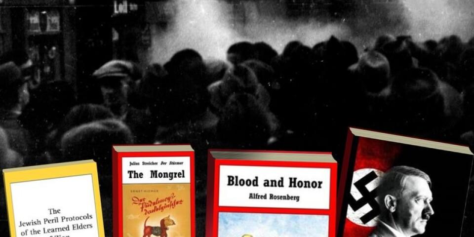 Det går bland annat att köpa The Mongrel på Adlibris –en nazistisk barnbok.