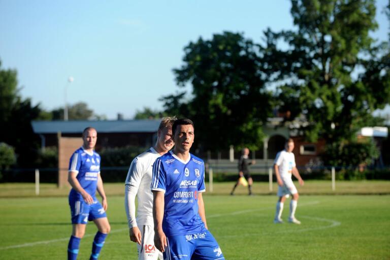 Selmir Jukan gjorde en bra match när Mörbylånga 1-1-kryssade mot Torsås/Norra Tång.