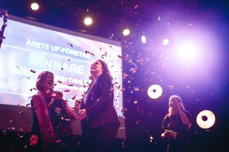 Vinnarna i årets UF-mässa