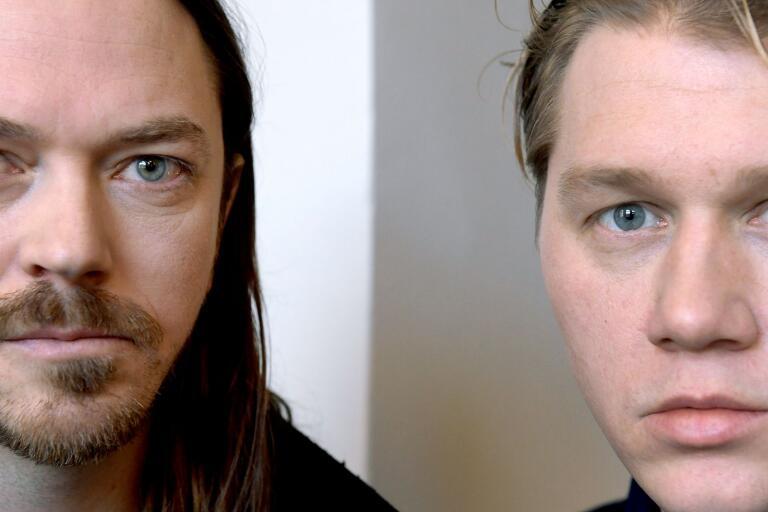 STOCKHOLM 20170213Oskar Bonde och John Engelbert i rockduon Johnossi.