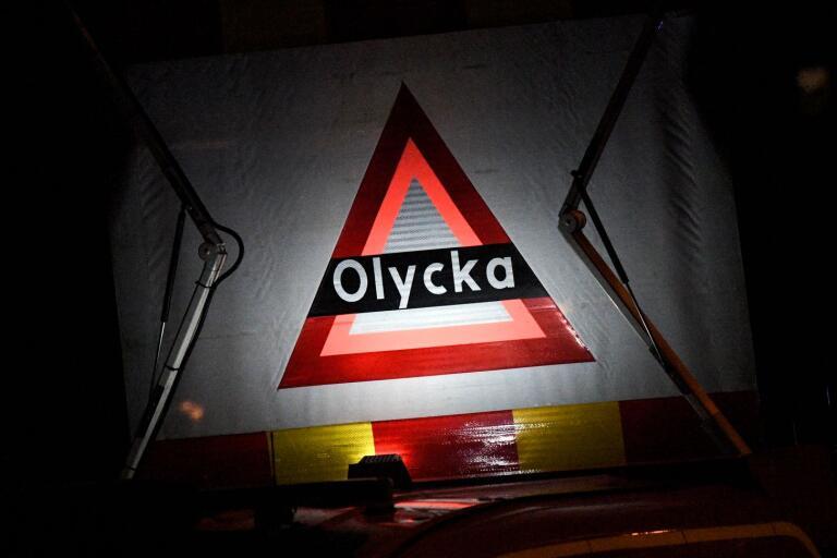 Arkivbild. Olycka under natten i Jämjö.