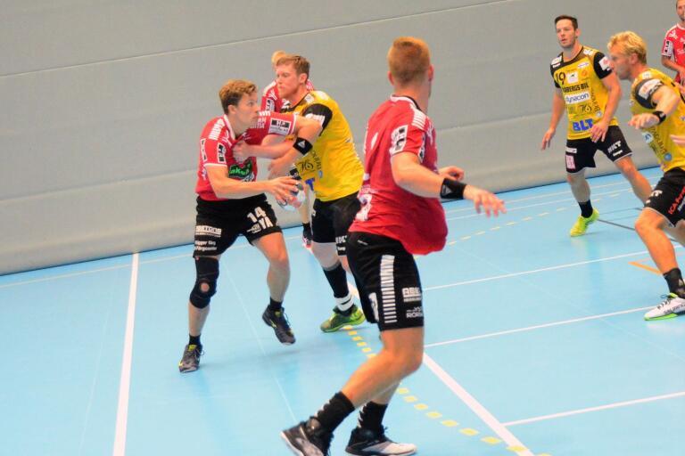 Jack Månsson när IFK Ystad mötte Karlskrona i höstas.