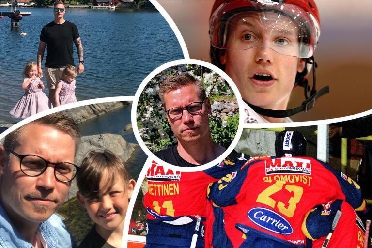 Henrik Blomqvists karriär befann sig ofta på villovägar, men i dag är det en lycklig trebarnsfar som som lever sitt liv i Nynäshamn.