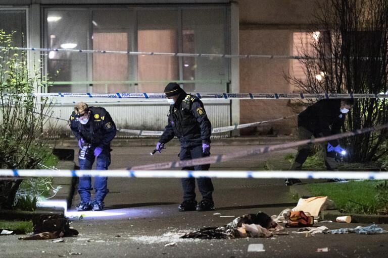 Femtonåring anhållen efter skjutning i Malmö