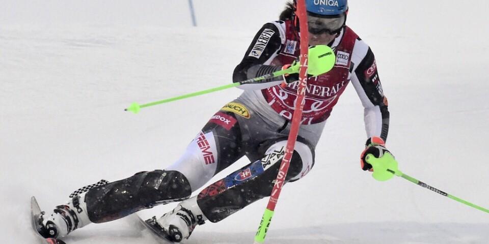Petra Vlhova vann för andra dagen i rad i Levi.