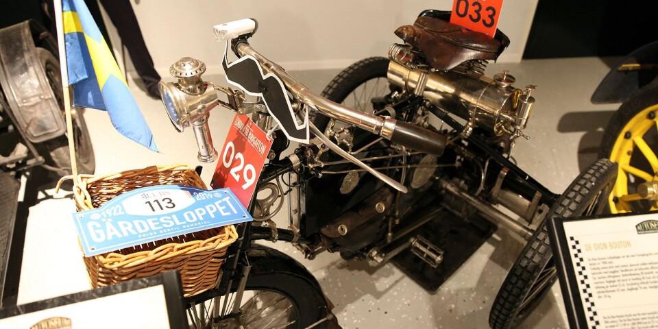 De Dion-Boutons trehjuliga motorcykel var det mest framgångsrika motorfordonet i Europa från 1897 till början av 1900-talet.