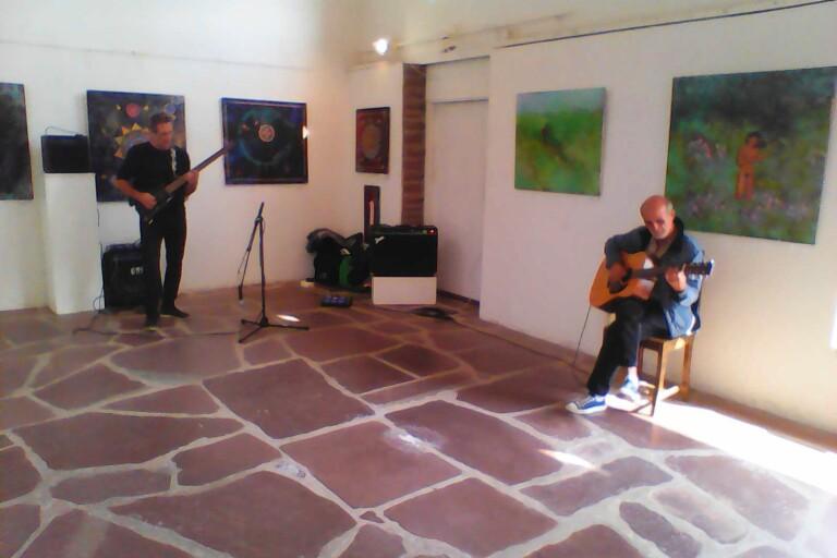 Gratis gitarrkonsert i Stenladan