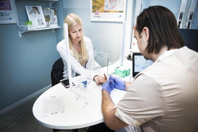 Provtagning för antikroppar mot covid-19 – så går det till