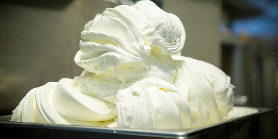 Italiensk glass på skånska.