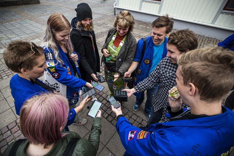 """Studenter upptäcker Borås genom Pokemon Go: """"Ett äventyr"""""""