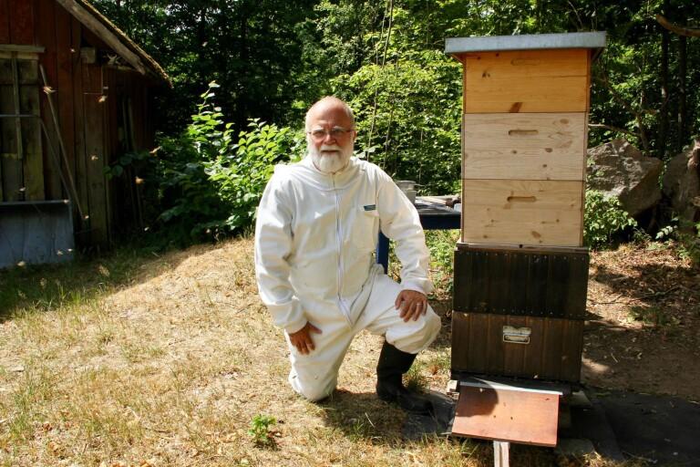 """Bra honungsår för biodlaren: """"Håller på till orken tryter"""""""