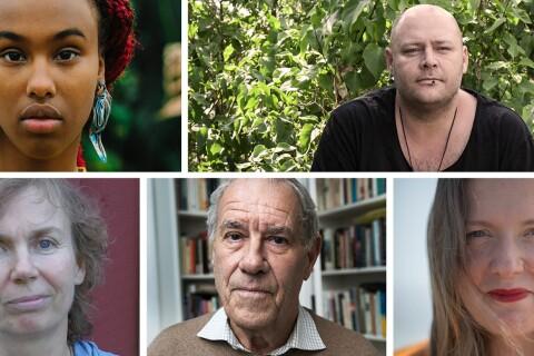 Ny satsning: Plats för poesi – möt de fem författarna