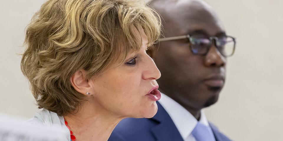 FN:s särskilda utredare Agnès Callamard riktar hård kritik mot Saudiarabien under ett möte med FN:s råd för mänskliga rättigheter.